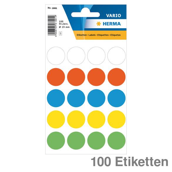 88 Stück leuchtrot Herma Hinweis Aufkleber Pfeile Pfeil Etiketten 38x7 mm