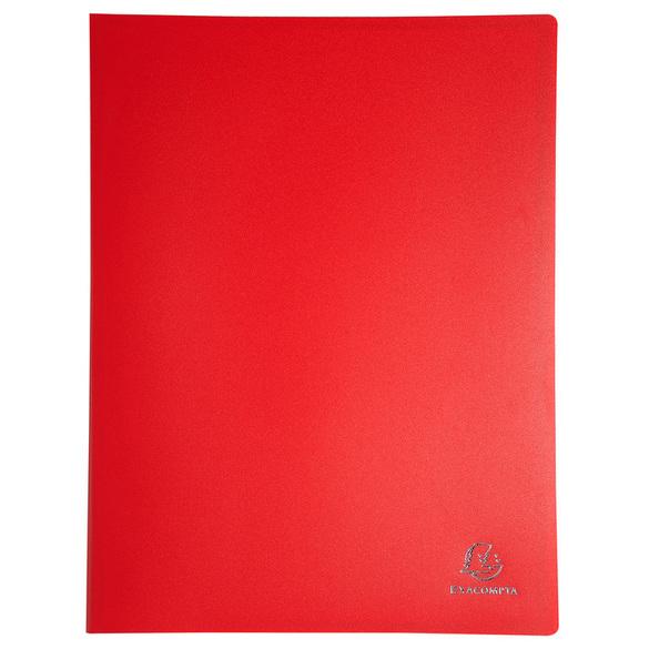 EXACOMPTA Sichtbuch PP DIN A4 20 Hüllen schwarz